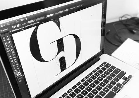 Font Matter design
