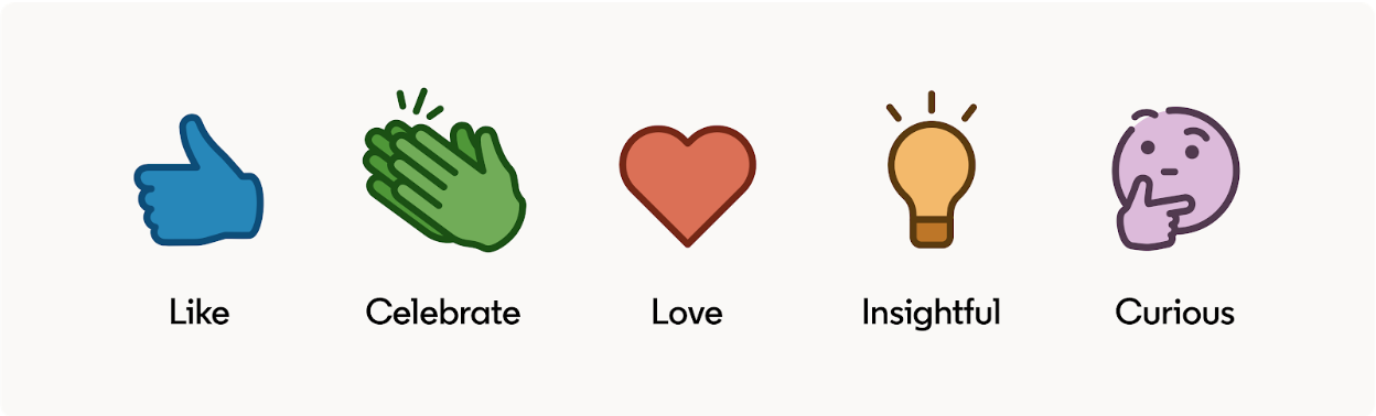 How LinkedIn's new Reactions will help your Content Strategy